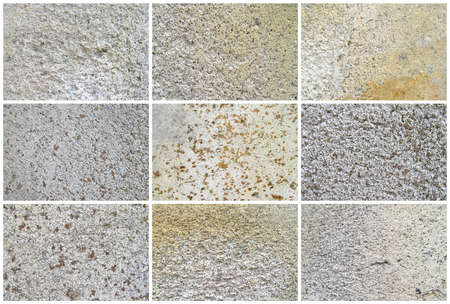 Nine Natural Limestone Background or textures. The real color. Without saturation of colors. Фото со стока