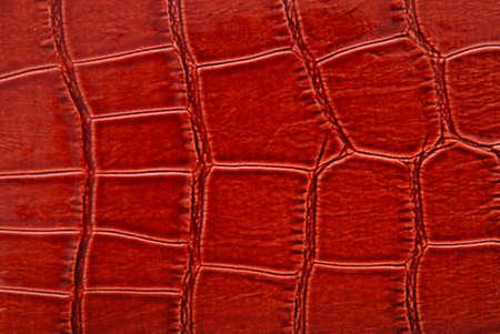 imitation leather: Brown crocodile leather imitation texture background