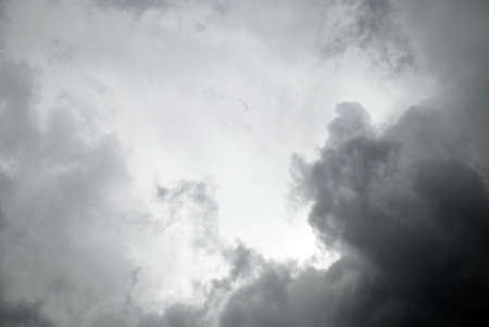 Dark storm clouds, clouds with background. Dark clouds before a thunder-storm.