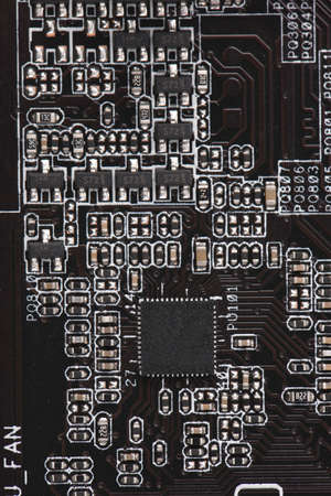 Computer electronic circuit. Use for background or texture