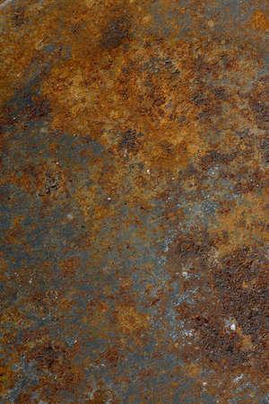 Rusty metal background closeup. High resolution photo.