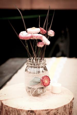 dried floral centerpieces