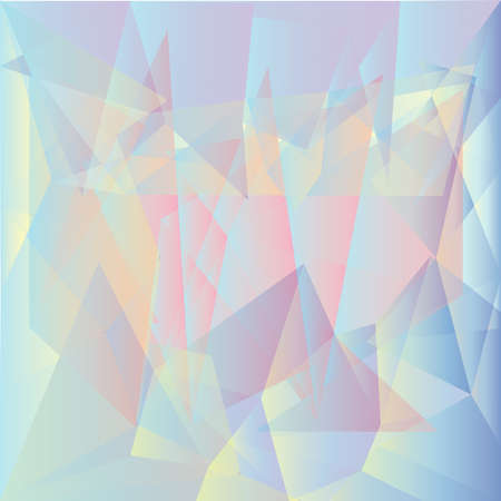 multilayer: Multilayer colorful polygonal image. Colors of rainbow