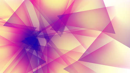 brilliancy: Background of orange and purple geometric shapes. Contrast and bright picture.