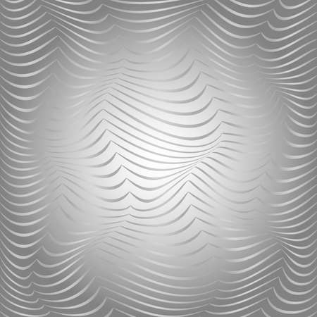 distortion: Background of the bulk waves of gray. The distortion of space. Curved lines.