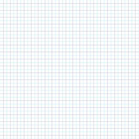 Le motif géométrique des lignes bleues. feuille de cahier d'écolier. La grille de lignes.