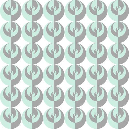 circles pattern: Original seamless pattern of circles. Geometric pattern.