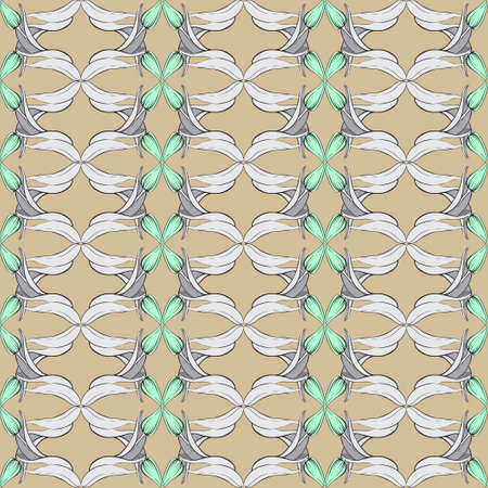 The classic pattern of colors. Seamless image. The color of coffee with milk.