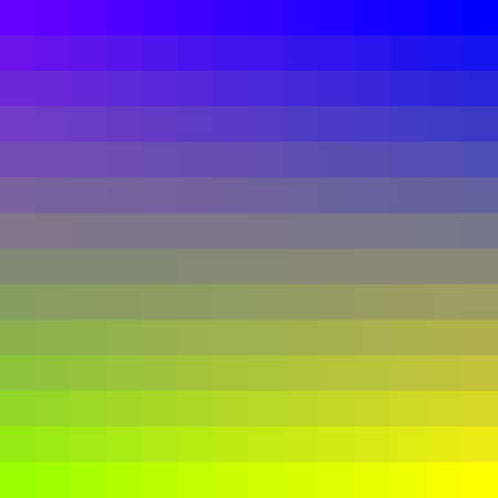 complementary: The original image of the squares. Complementary colors. Gradient. Bright colors.