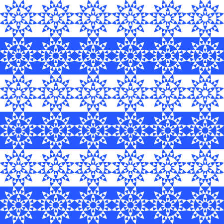 cool colors: The pattern of colors on a white background. Cool colors. Winter shades. Seamless winter pattern. Illustration