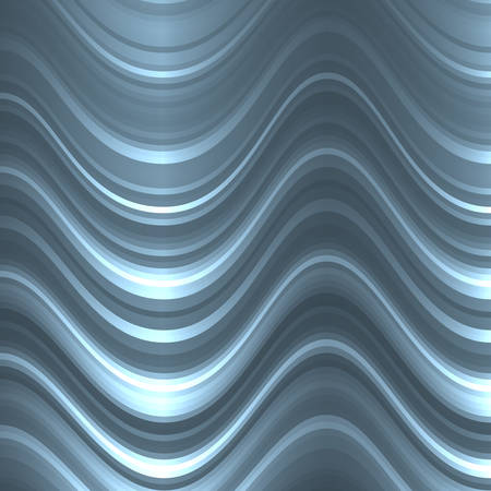 luster: Metallic pattern of lines and waves. The distortion of space. The metallic luster.