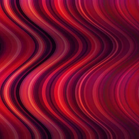 distortion: Abstract background of red lines. The distortion of space. Lines and waves. Bright pattern.