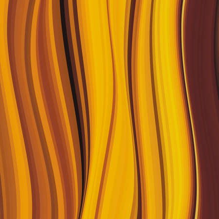 Wood texture in warm colors. Autumn shades. Illustration