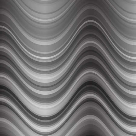 luster: Background of wavy lines. Metallic luster. Steel wave.