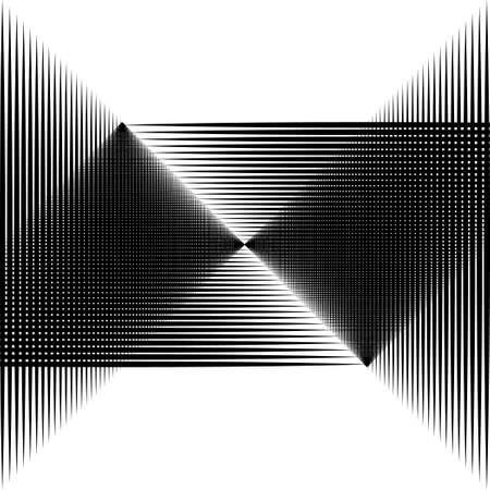 graphically: Graphically the image of the black lines. White background. Black and white image.