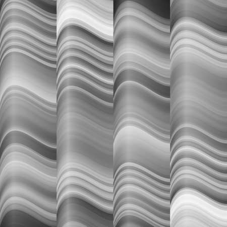 distort: The background of gray folds. Monochrome image. Shiny stuff. Illustration