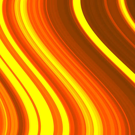 spire: Abstract background from the set lines. Fiery color. Bright pattern. The distortion of space. Illustration