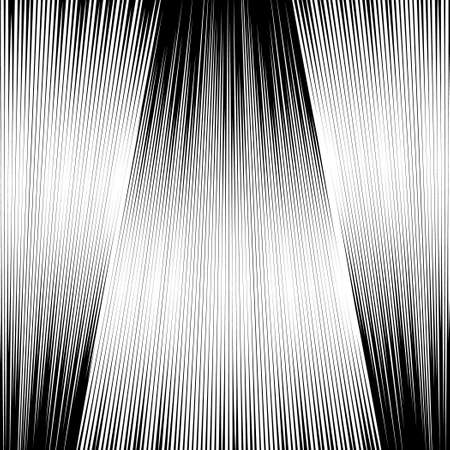 sloping: Sloping lines on a black background. Black and white background. Engraving style.