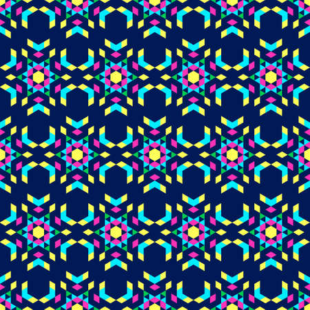 bright colors: Kaleidoscope on a dark background. Bright colors. Glass and snowflakes.