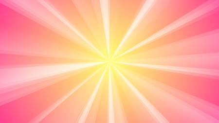 suprise: Abstract background of light rays. The color of dawn. Sunlight in the sky. Illustration
