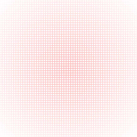 transition: Abstract background with dots. A smooth transition of color. Delicate pink color. Illustration