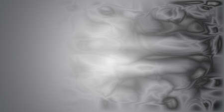 gray matter: Abstract background in shades of gray. The illusion of smoke, or the motion of matter. Monochrome image. Illustration