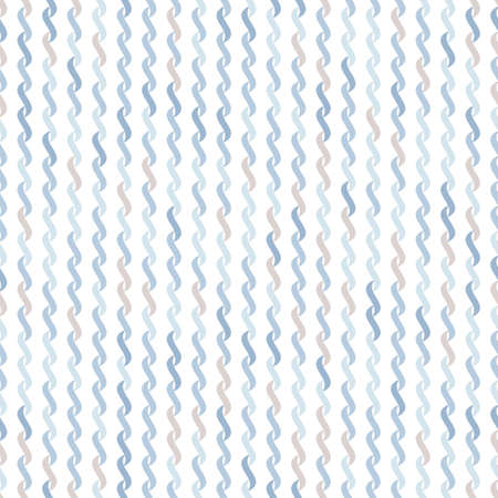 undulating: Seamless pattern of undulating shapes on a white background. Shades of gray and blue.