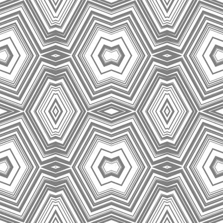 Abstract seamless pattern with lots of angular elements. A kaleidoscope of forms.