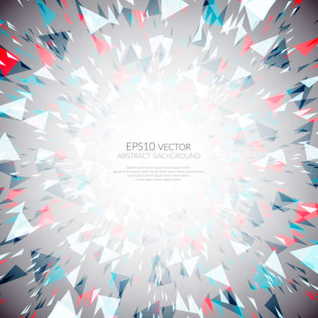 suprise: Abstract background of star burst - eps10 vector