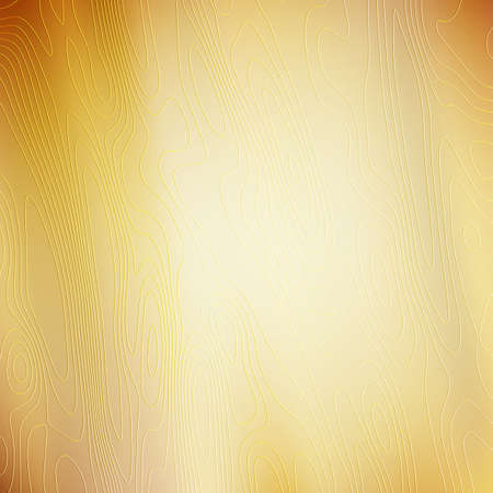 Abstract golden background with texture. A pattern of lines and curves.