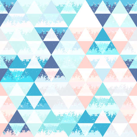 Abstract seamless background with triangles. Grange texture.