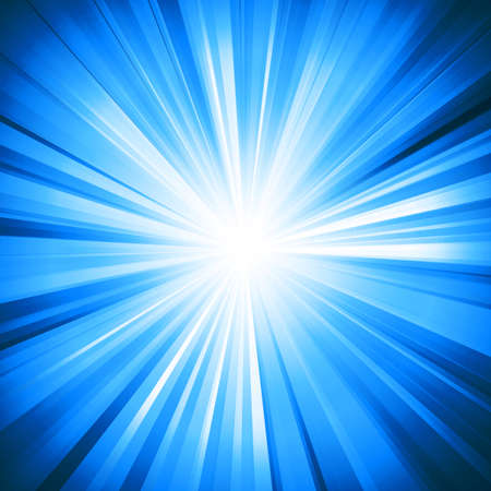 Abstract bright background with geometric shapes. Rays emanating from the Centre. Point of concentration. Sunlight.