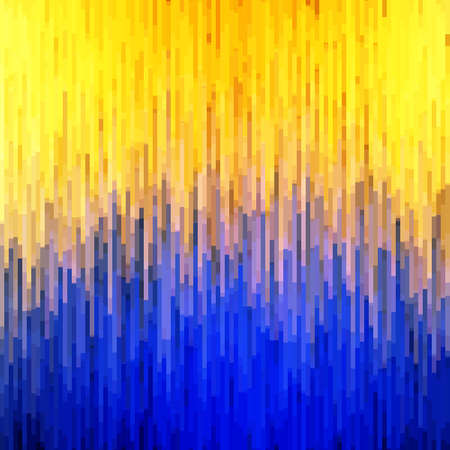 Abstract background. Bright music visualization. Geometric texture. Stock Photo