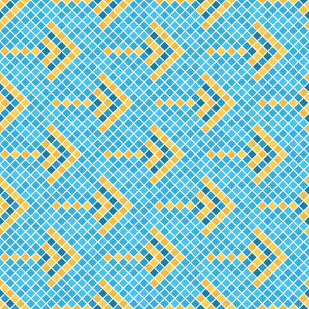 Abstract pattern of squares. Illustration