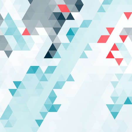 grid pattern: Abstract background of many triangles. Movement of geometric shapes. Color transitions. Illustration