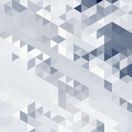 Abstract background of many triangles. Movement of geometric shapes. Color transitions. Illustration