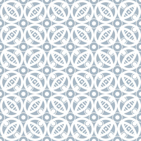 Abstract seamless pattern in vintage style. Interlocking shapes and textures. Pastel colors. Ilustracja