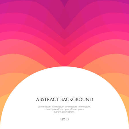 Abstract background with curved lines. Specify the direction of the movement.