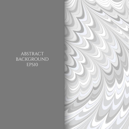 Abstract background of curved forms. Undulation of the shapes.