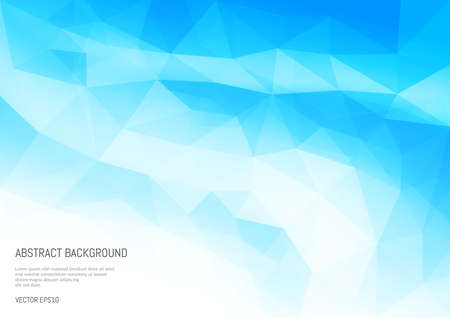 Abstract background in the polygonal style. The surface of the triangles.