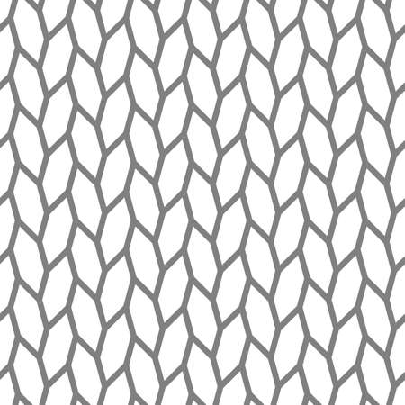 Abstract seamless pattern of hexagons. Motion and interlocking geometric forms. Abstract texture.