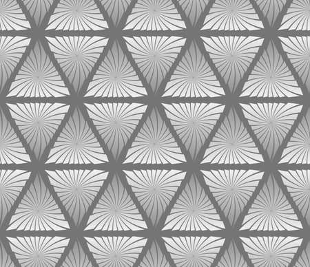 Abstract seamless pattern of triangles geometric texture.