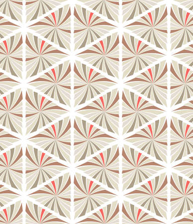 Abstract seamless pattern of triangles. Geometric texture.