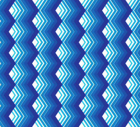 Abstract seamless geometric pattern. Optical illusion of motion. Vector illustration.