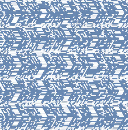 Abstract seamless geometric pattern. Optical illusion of motion. Texture of simple shapes. Stok Fotoğraf - 100021418
