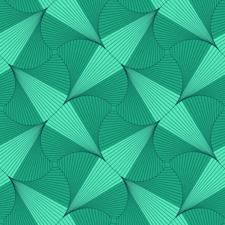 Seamless pattern from squares. Optical illusion of rotation. Reklamní fotografie - 103728683