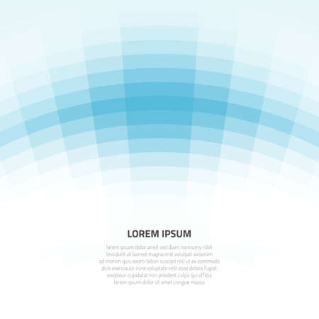 Abstract background with curved geometric shapes. Vector illustration for modern design. Space for placing textual information. Фото со стока
