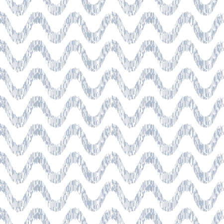 Seamless pattern of yarns. Waves and vibrations of forms. Optical illusion of motion. Pattern for fabrics and wallpaper. Illustration