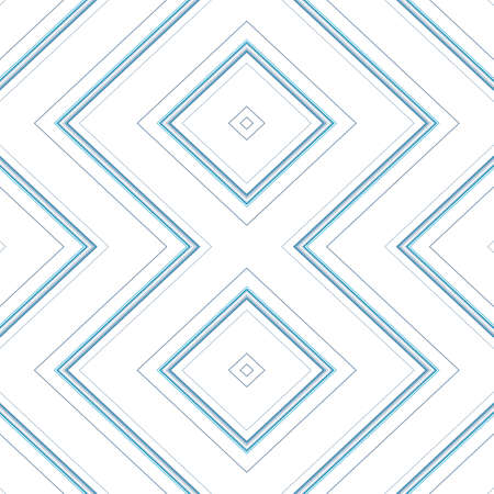 Seamless pattern with a pattern with linear ornament. Inclined strokes of wallpaper. Digital paper with corner strips for textile printing. Ilustração
