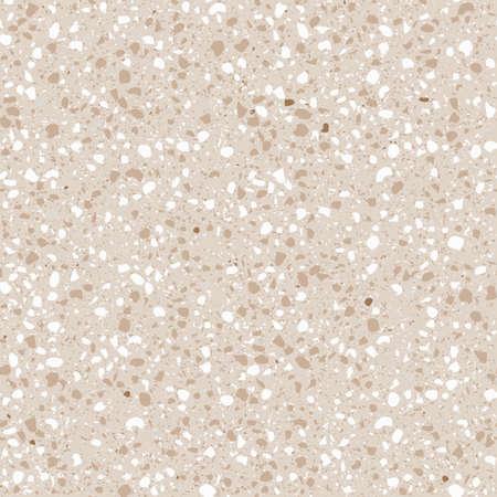 Trama geometrica senza soluzione di continuità. La trama del classico tipo di pavimento italiano in stile veneziano è composta da pietra naturale, granito, quarzo, marmo, vetro e cemento.